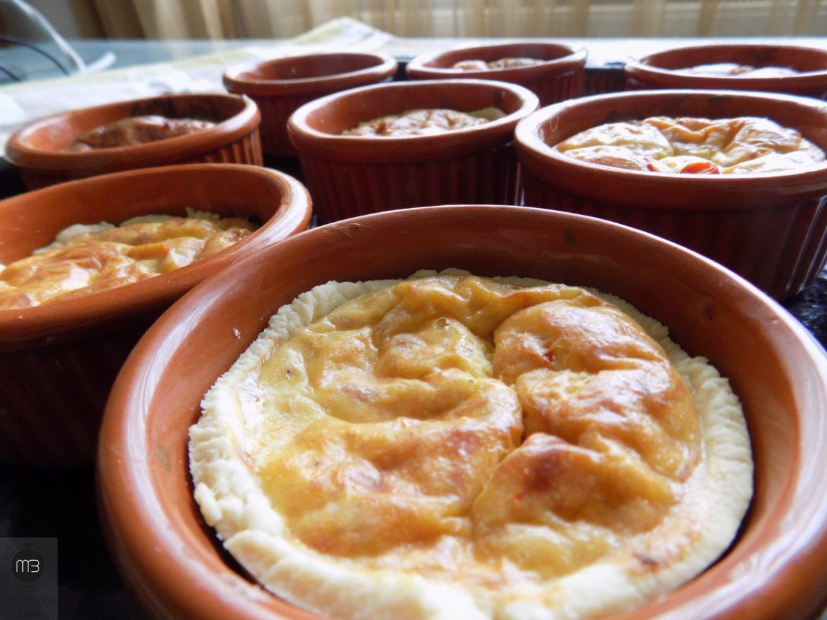 """Quiche aux trois fromages et thon (Crédit Photo: Team """"mangeons bien"""" - mangeonsbien.tn)"""
