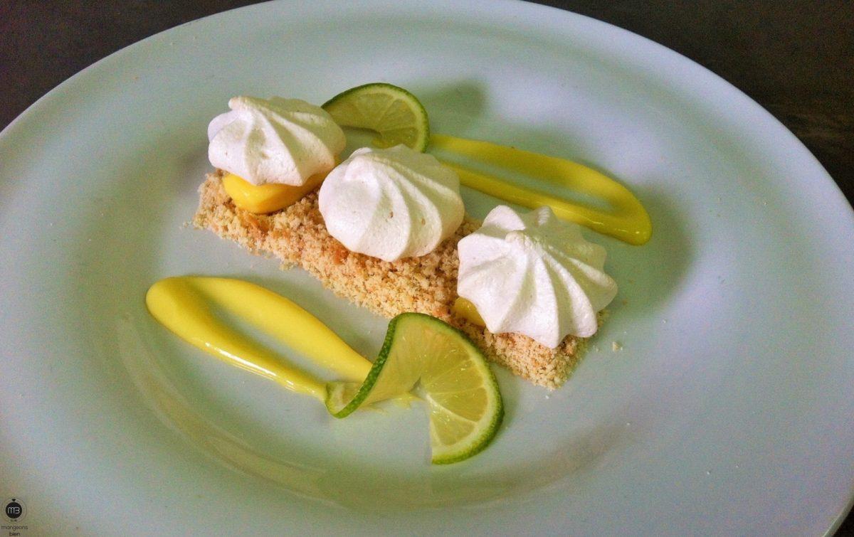 Tarte au citron déstructurée façon crumble (Crédit Photo: Chef Younes HAMITECHE - mangeonsbien.tn)