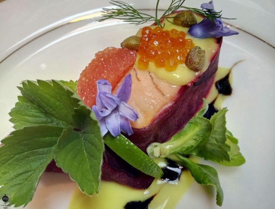 """La gondole des romantiques (Crédit photo: Chef Mahjoub AOUIDET, alias """"Evan CARLO"""" - mangeonsbien.tn)"""