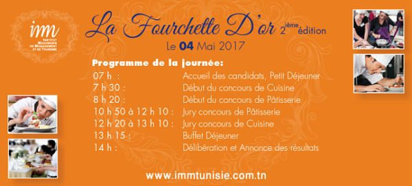 Le programme de La Fourchette d'Or 2017