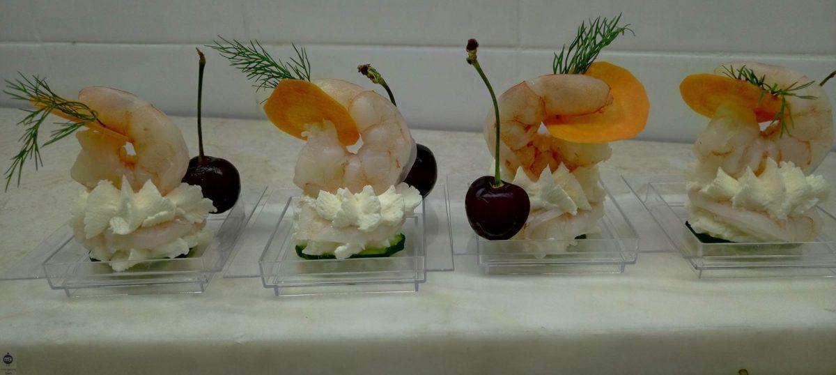 L'opérette des crevettes (Crédit Photo: chef Mahjoub AOUIDET - mangeonsbien.tn)