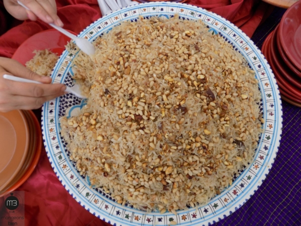 """""""Rechta hloua"""" aux fruits secs (Crédit Photo: Team """"mangeons bien"""")"""
