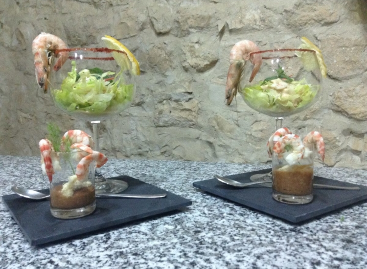 Cocktail Crevettes Duo
