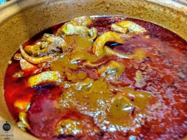 Kamounia au poulpe avec une sauce aux tomates fra ches - Comment cuisiner un poulpe ...